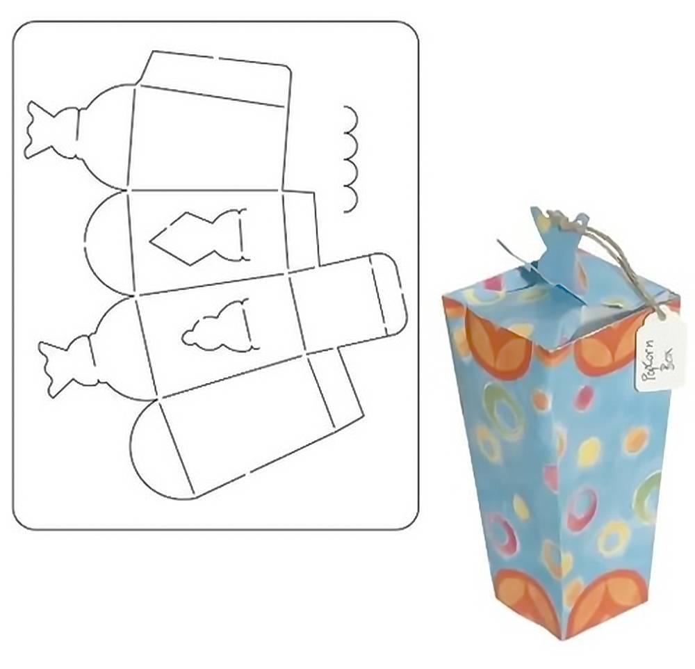 Общие - Упаковочные Коробки, Трафарет
