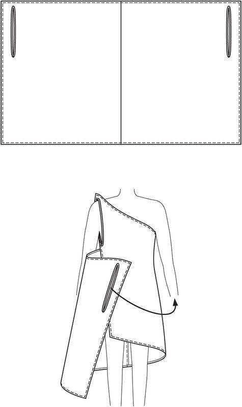 Как быстро сшить платье бабочку без выкройки 6