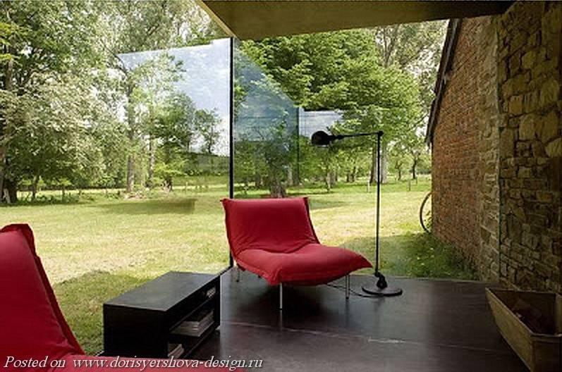 стеклянная пристройка, бельгия, стеклянный куб, терраса