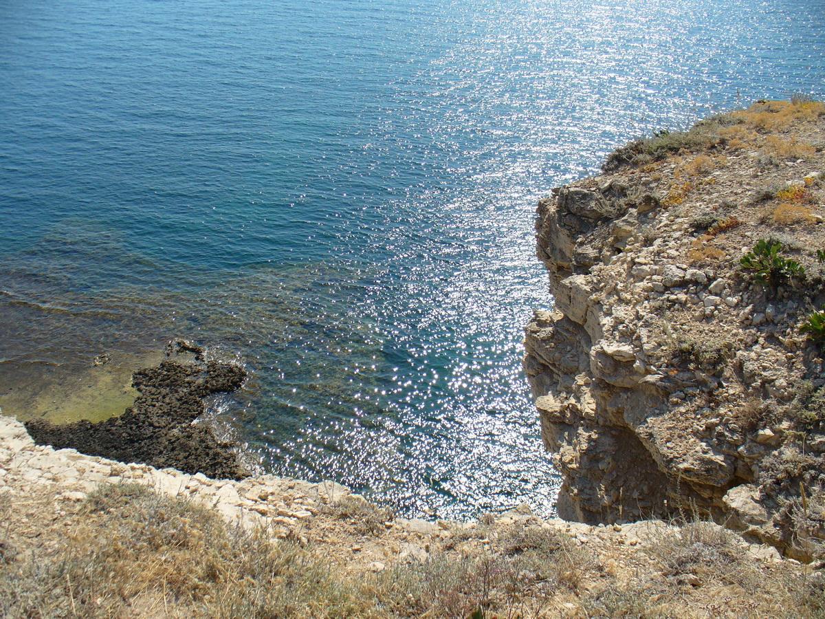 Крым. Тарханкут. Фото - Дорис Ершовой